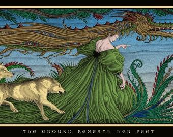 The Ground Beneath Her Feet. No 3 in the Gnarly Gardens Quartet.
