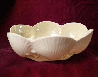 Irish Belleek Shell Dish