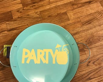 Party Drink tray