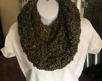 Infinity scarf, very fluffy