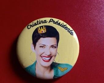 Badge President Cristina