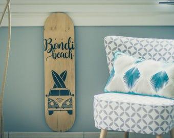 Custom skateboard deck - Bondi Beach