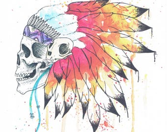 Print on a high quality watercolor paper.