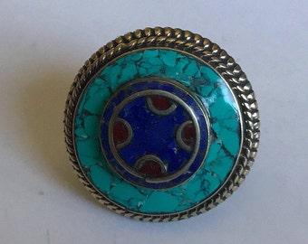 Lapis Mosaic Ring