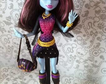 Doll Monster High ooak art doll