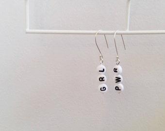 Custom Made Letter Earrings