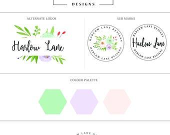 Premade branding set-Business branding set
