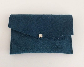 Mini wallet petrol blue