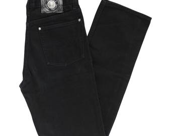 Vintage / Authentic Versace black high waist jeans