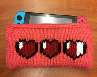 Knitted Nintendo Switch Case *CUSTOMIZABLE*