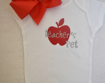 Teacher's Pet Onesie (3-6 months)