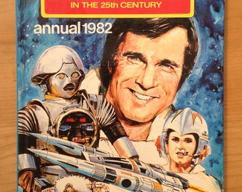 Vintage buck rogers annual book 1982