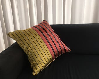 Handmade pillows made from fashion fabrics