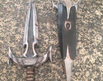 Mehrunes' Razor Cosplay Dagger Prop from Skyrim