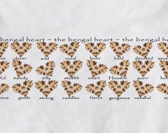 The Best Bengal T-shirt - Bengal Cat Lover - Heart Attitude