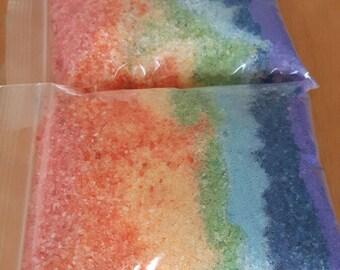 Rainbow Bath Salt - Bag