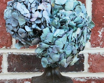 Dried Blue Hydrangea | Blue Flowers | Dried Flower | DIY Bouquet