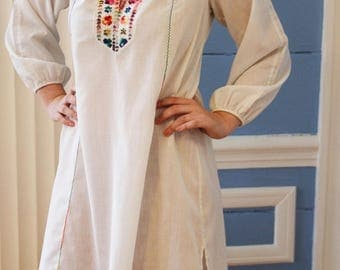 A-line vintage bohemian dress by Lord and Taylor