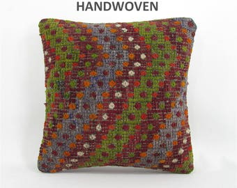 throw pillow antique kilim pillow boho rug pillow throw pillow cover decorative pillow home decor pillows 000765