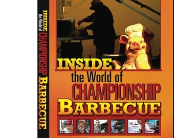 Inside The World of Championship Barbecue - DVD - NEW