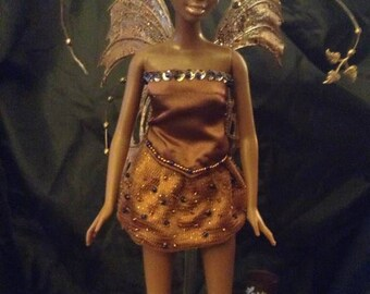 OOAK Doll CoCo L'Amor March candy of the month Caramel Chocolate.