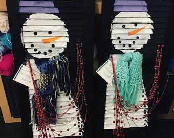 Snowman Winter Decoration