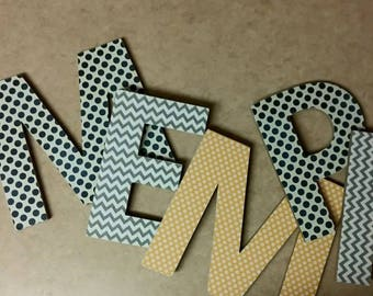 Wooden Letters for Wall
