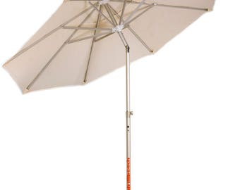 Electric Beach Umbrella that It settler in the Sand with a Click ! Model Basic