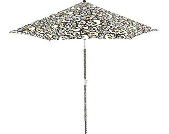 Electric Beach Umbrella that It settler in the Sand with a Click ! Model Mortis