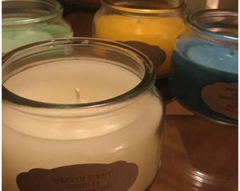 Heaven Scent Soy Wax or Paraffin Wax Candles
