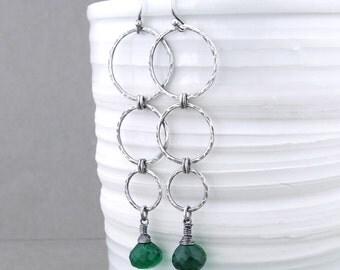 CLEARANCE Long Earrings For Women Dangle Earrings Sterling Silver Earrings Drop Earrings Unique Gift Idea for Her Boho Jewelry - Marilynn