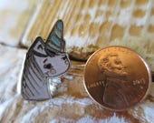 Baby Uni - enamel pin 1 inch unicorn