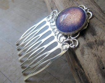 Prism Collection: Dawnlit Fog Hair Comb