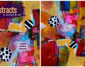 Pre-Sale! Abstracts in Acrylic in Ink Signed book with commemorative postcard by Jodi Ohl