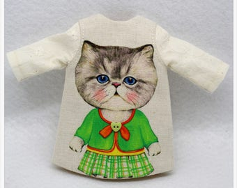 LADYBIRD HOUSE Blythe Outfit Cat Dress - H