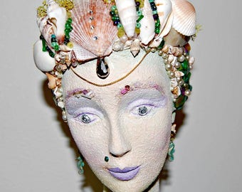 Mermaid Shell Bust