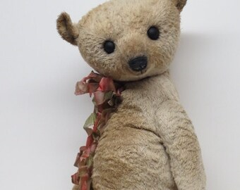 "Artist Bear Well Loved Antique Style Teddy Bear 16"" OOAK By Kim Endlich"