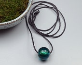 Contemporary Jewelry // Hand Blown Glass // Contemporary Necklace // Lampwork Bead