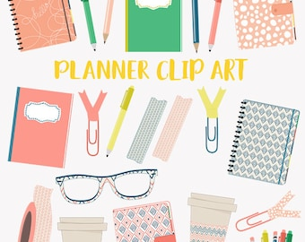 Planner girl clipart, journal writing, notebook, organizer book woman clipart, PNG clipart (LC27)