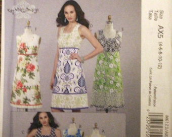 McCall's 6123 sewing pattern  - Size AX5 (4-6-8-10-12) top, tunic, and dresses
