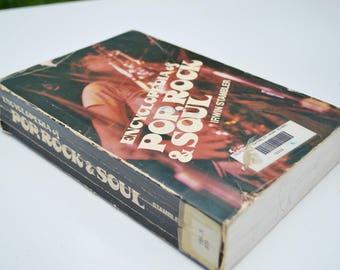 "Vintage ""Encyclopedia of Pop, Rock & Soul"" Book"