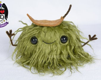 MADE TO ORDER: Moss Pal plush furry nature friend spirit of the outdoors