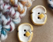 Toast Buttons - Ceramic Buttons - 2