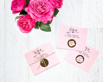 Gift for Mom - Love Coupons - Mother's Day Coupons - Gift Idea for Mom - Scratch Off Cards - Custom Birthday Gift - Personalized Love Coupon
