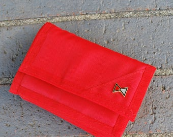 Vintage Women's Nylon Wallet New Old Stock with Coin Pouch