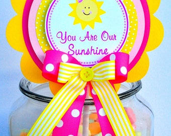 You are My Sunshines Cake Topper, You are my Sunshine Birthday Party, Smash Cake Topper, You are My Sunshine Decorations