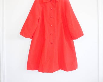 Vintage Red Girl's Jacket
