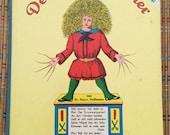Shock Head Peter!  :  Der Struwwelpeter, Vintage German Board Book!  c1960, R