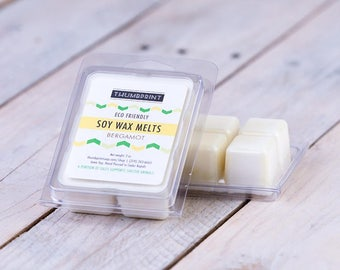 "Soy Wax Melts | ""Bergamot"" Fragrance 