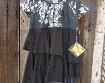 Upcycled Girls Dress Size 4/5